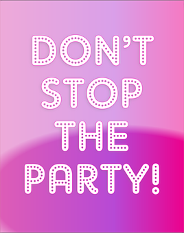don't stop the party because of period myths