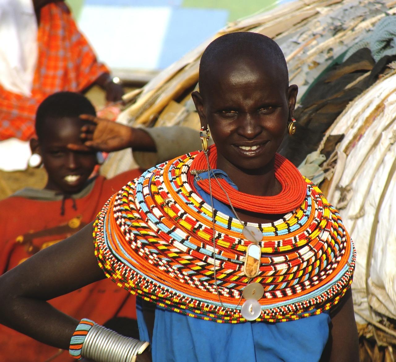 Image of African woman - Menstruatioin awareness