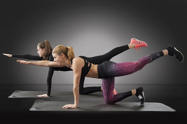 Exercising for reducing menstrual cramps