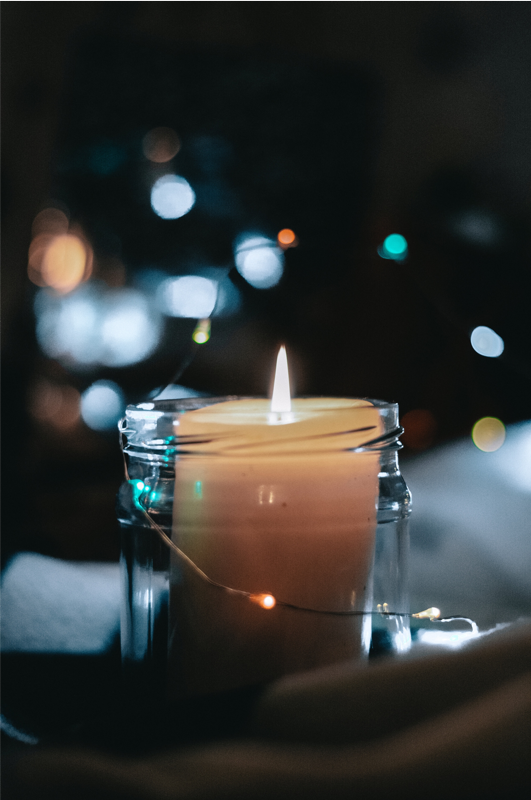 Scented candles as gifts