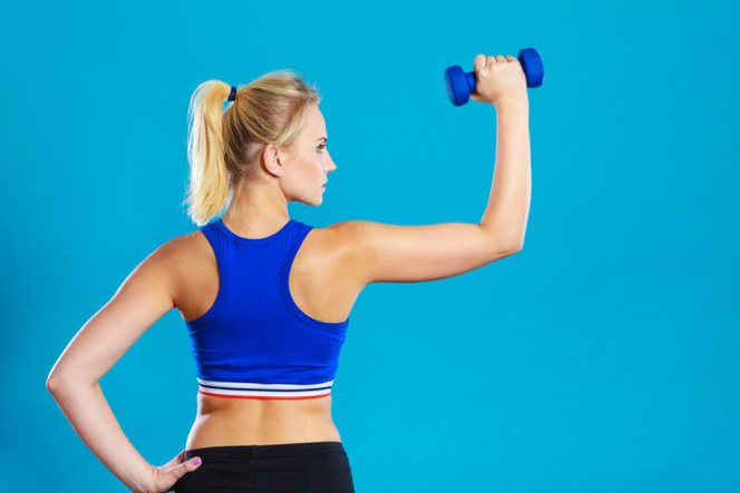 Lifting weights during periods